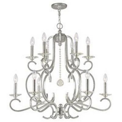 Crystorama Lighting 9349 Orleans - Twelve Light Chandelier