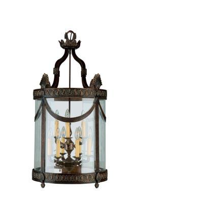 Crystorama Lighting 9410 Regal - Six Light Lanterns