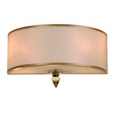 Crystorama Lighting 9502 Luxo - Two Light Wall Sconce
