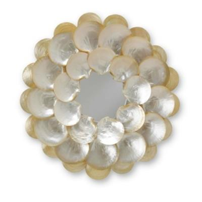 Currey and Company 1067 Mother-of-Pearl - Mirror