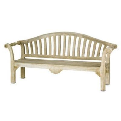 "Currey and Company 2021 Virginia - 86"" Bench"