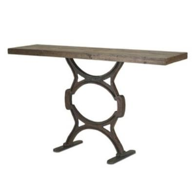 Currey and Company 3022 Factory - Console Table