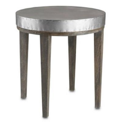 "Currey and Company 3165 Wren - 24"" Table"
