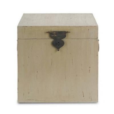 "Currey and Company 3168 Simone - 19"" Square Chest"
