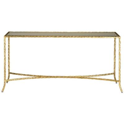 "Currey and Company 4003 Gilt Twist - 60"" Console Table"