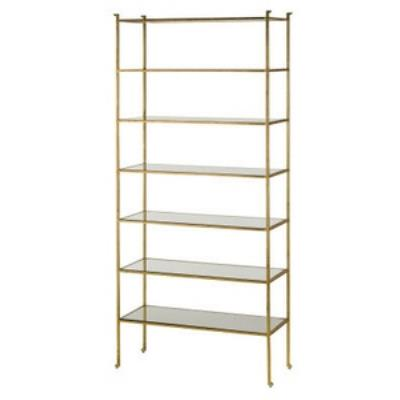 "Currey and Company 4132 Delano - 41"" Tall Etagere"