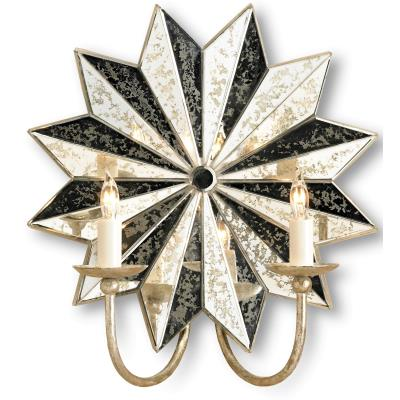 Currey and Company 5007 Starburst - Two Light Wall Sconce