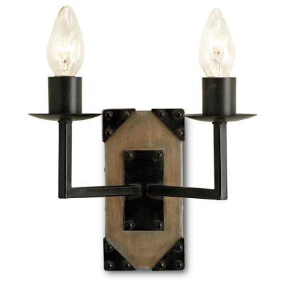 Currey and Company 5062 Eufaula - Two Light Wall Sconce
