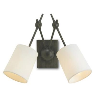 Currey and Company 5150 Compass - Two Light Wall Sconce