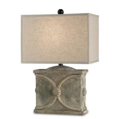 Currey and Company 6014 Waldenbury - One Light Table Lamp