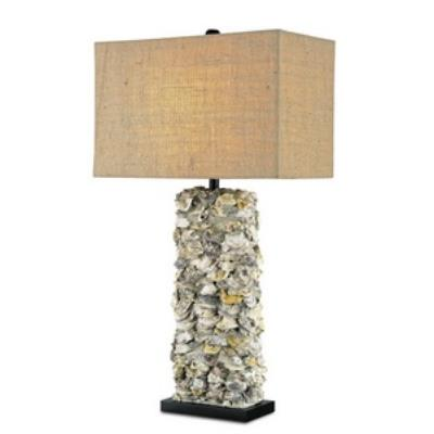 Currey and Company 6332 Lynnhaven - One Light Table Lamp