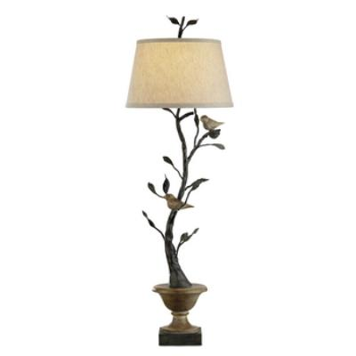 Currey and Company 6353 Mulberry - One Light Table Lamp