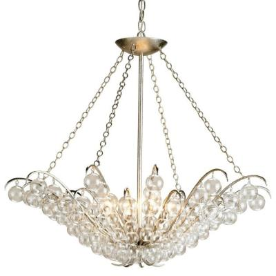 Currey and Company 9000 Quantum - Four Light Chandelier