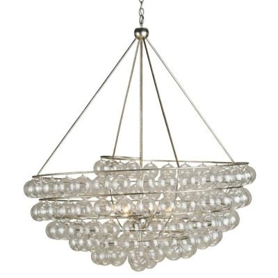 Currey and Company 9002 Stratosphere - Four Light Chandelier