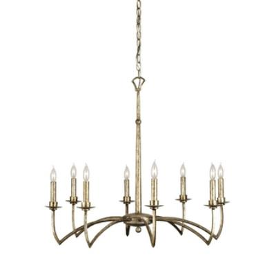 Currey and Company 9020 Mainstay - Eight Light Chandelier