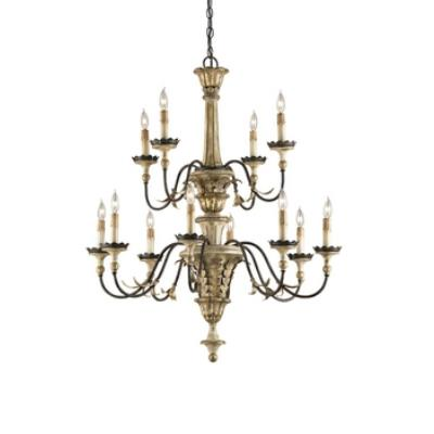 Currey and Company 9040 Adara - Twelve Light Chandelier