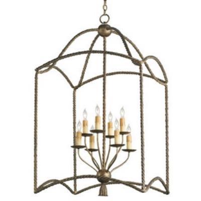 Currey and Company 9043 Bamburgh - Eight Light Hanging Lantern