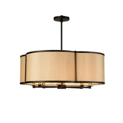 Currey and Company 9050 Linley - Eight Light Pendant