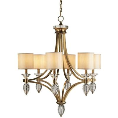 Currey and Company 9081 Sebastian - Six Light Chandelier