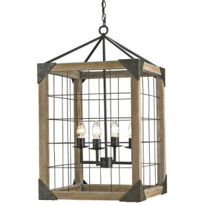 Eufaula - Four Light Hanging Lantern