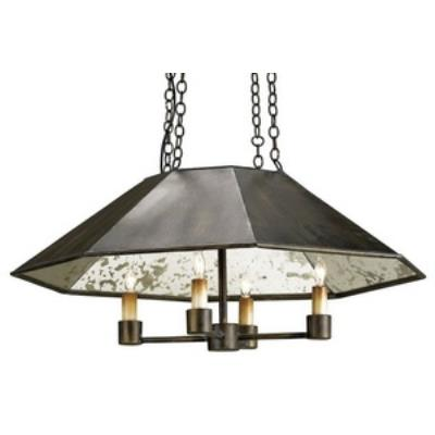 Currey and Company 9087 Annandale - Four Light Pendant