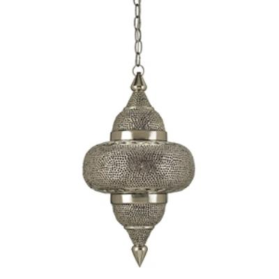 Currey and Company 9103 Tangiers - One Light Pendant