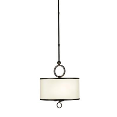Currey and Company 9107 Brownlow - Three Light Pendant