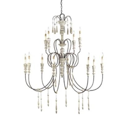 Currey and Company 9117 Hannah - Twelve Light Chandelier