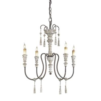 Currey and Company 9118 Hannah - Four Light Chandelier