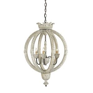 Dauphin - Three Light Small Chandelier