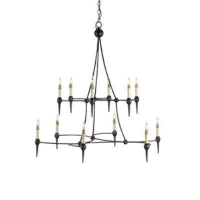 Currey and Company 9157 Danielli - Twelve Light Large Chandelier