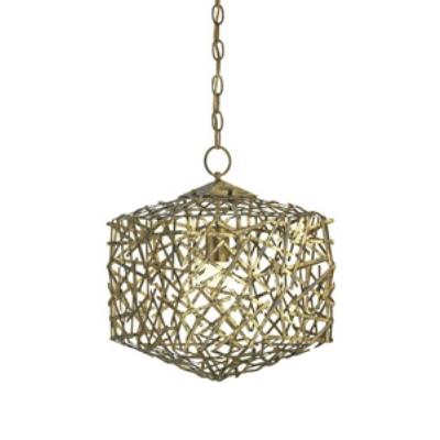 Currey and Company 9168 Confetti - One Light Cube Pendant