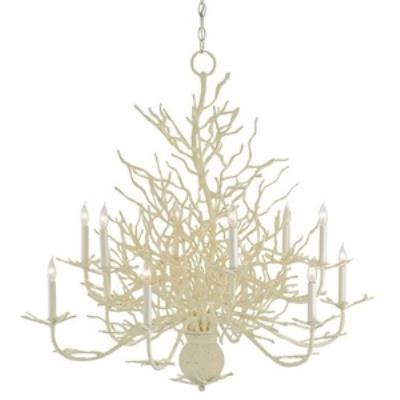 Currey and Company 9188 Seaward - Twelve Light Large Chandelier