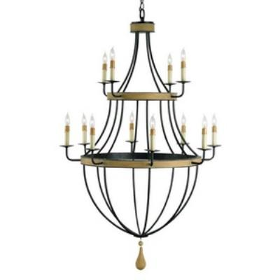 Currey and Company 9195 Blythwood - Twelve Light Chandelier