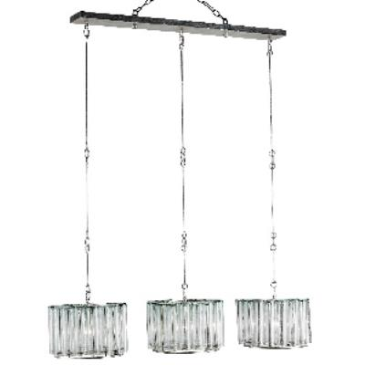 Currey and Company 9356 Bevilacqua Trio - Three Light Pendant