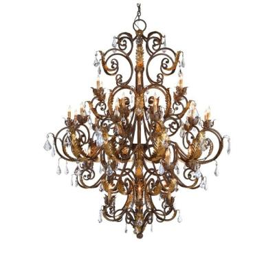 Currey and Company 9530 Innsbruck - Thirty-Nine Light Chandelier