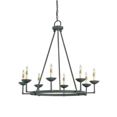 Currey and Company 9670 Ormewood - Eight Light Chandelier