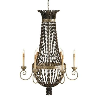 Currey and Company 9686 Destination - Six Light Chandelier