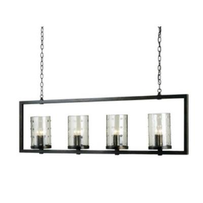 Currey and Company 9742 Longhope - Twelve Light Rectangular Chandelier
