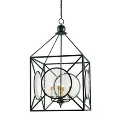 Currey and Company 9748 Beckmore - Four Light Lantern