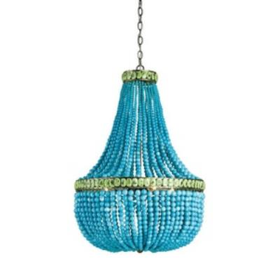 Currey and Company 9770 Hedy - Four Light Chandelier