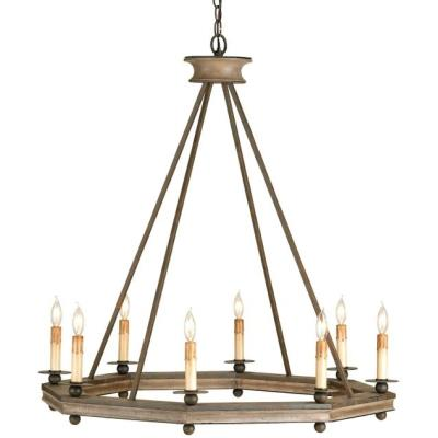 Currey and Company 9799 Bonfire - Eight Light Chandelier