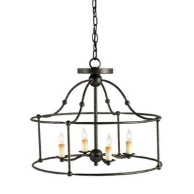 Currey and Company 9878 Fitzjames - Four Light Pendant