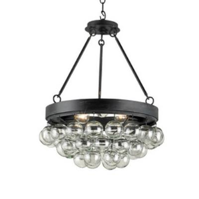 Currey and Company 9887 Balthazar - Three Light Convertible Pendant