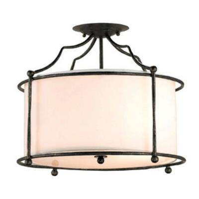 Currey and Company 9904 Cachet - Four Light Semi-Flush Mount