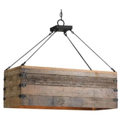 Currey and Company 9994 Billycart - Three Light Chandelier