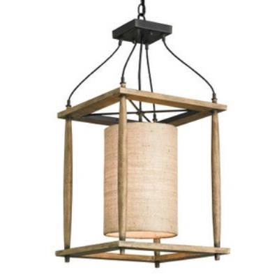 Currey and Company 9996 High Falls - One Light Hanging Lantern