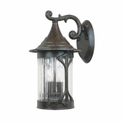Designers Fountain 20921 Canyon Lake - Three Light Outdoor Wall Lantern