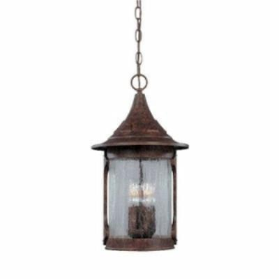 Designers Fountain 20934-CHN Canyon Lake - Four Light Outdoor Hanging Lantern