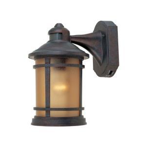 Sedona Motion Detector - One Light Outdoor Wall Lantern